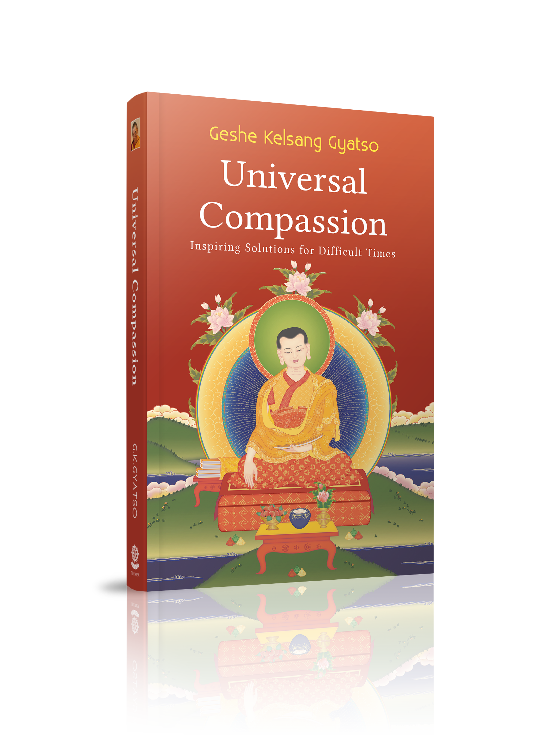 Book Universal Compassion2 3d