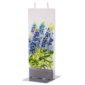 Bluebonnet Flat Candle