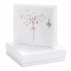 Boxed Tree Of Life Necklace Card