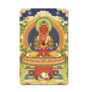 Buddha Amitayus Mini Card