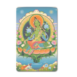 Green Tara Mini Card