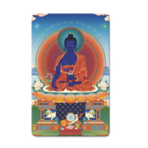 Medicine Buddha Minicard