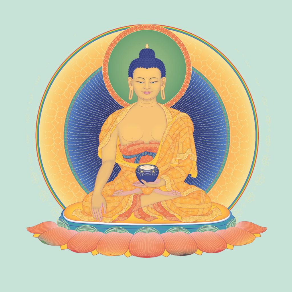 20201010 Square Buddha Shakyamuni