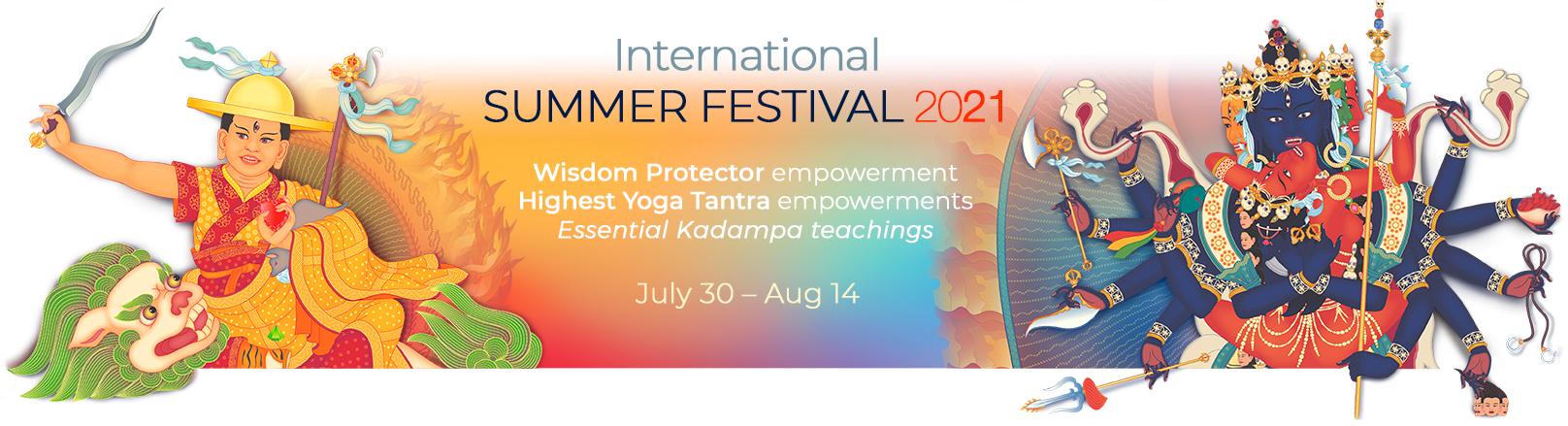 banner summer festival